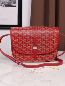 Goyard canvas belvedere bag GY0012 red