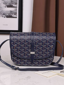 Goyard canvas belvedere bag GY0012 royal blue