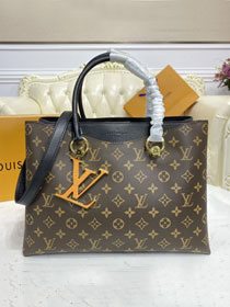 Louis vuitton original monogram riverside tote bag m40054 black