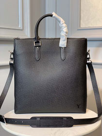 Louis vuitton original calfskin anton tote bag M33433 black