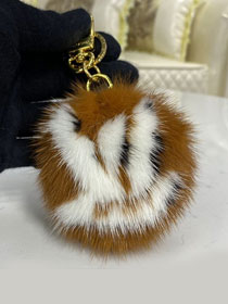 Louis vuitton fur handbag charm M69563