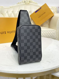 Louis vuitton original damier graphite sling bag N51993