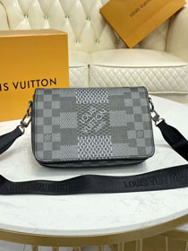 Louis vuitton original damier graphite studio messenger bag N50013