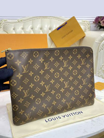 Louis vuitton monogram canvas etui voyage gm M43443 apricot