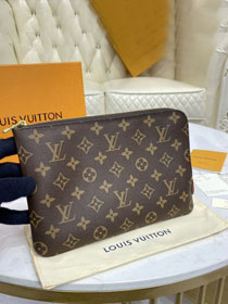 Louis vuitton monogram canvas etui voyage pm M44191 apricot