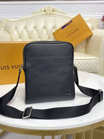 Louis vuitton original calfskin alex BB messenger bag M30265 black