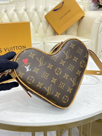 Louis vuitton original monogram canvas heart bag M45149
