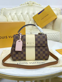 Louis vuitton original damier ebene bond street BB N41073 white