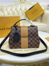Louis vuitton original damier ebene bond street BB N41073 yellow