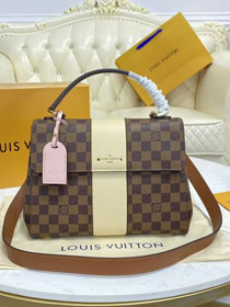 Louis vuitton original damier ebene bond street bag N64417 white