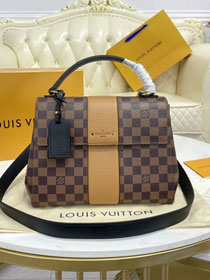 Louis vuitton original damier ebene bond street bag N64417 yellow