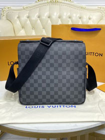 Louis vuitton original damier graphite naviglio messenger bag N45256