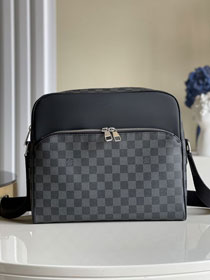 Louis vuitton original damier graphite dayton messenger bag mm N41409