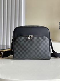 Louis vuitton original damier graphite dayton messenger bag pm N41408