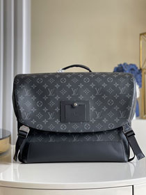 Louis vuitton original monogram eclipse voyager messenger bag M40510