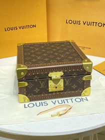 Louis vuitton original monogram jewelry box M20040