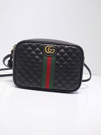 GG original calfskin mini shoulder bag 536441 black