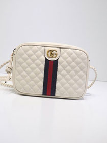GG original calfskin mini shoulder bag 536441 white