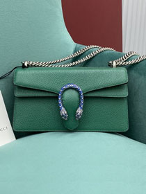 GG original calfskin dionysus small shoulder bag 499623 green