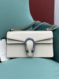 GG original calfskin dionysus small shoulder bag 499623 white